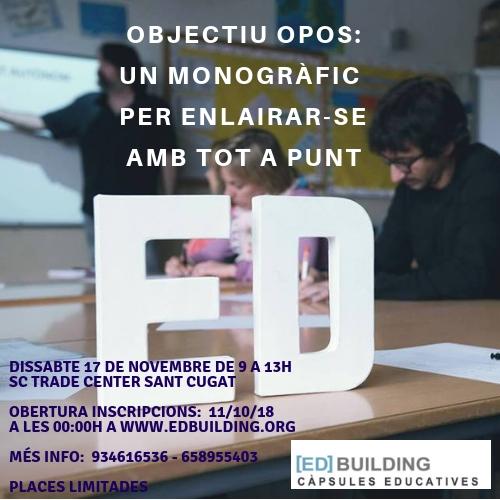 Objectiu OPOS - Edbuilding